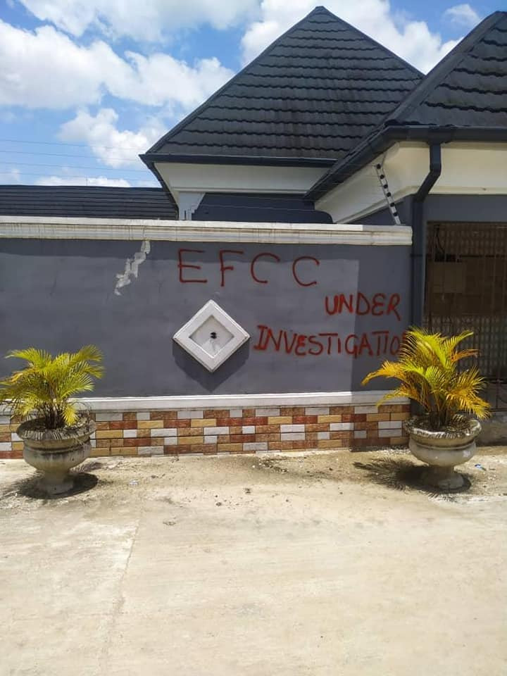 EFCC seals hotel, three houses owned by two suspected fraudsters