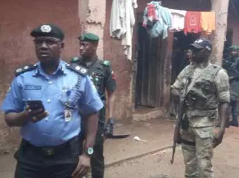 Kaduna State police rescue 300 chained persons from alleged Islamic centre (Photos)