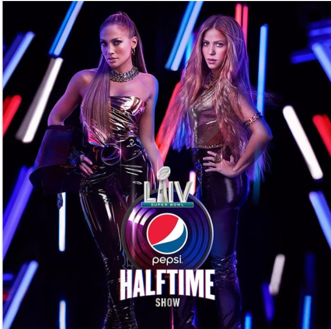 Jennifer Lopez and Shakira announced as Super Bowl 2020 halftime show performers