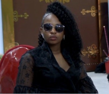 Cindy has been evicted from the #BBNaija?house
