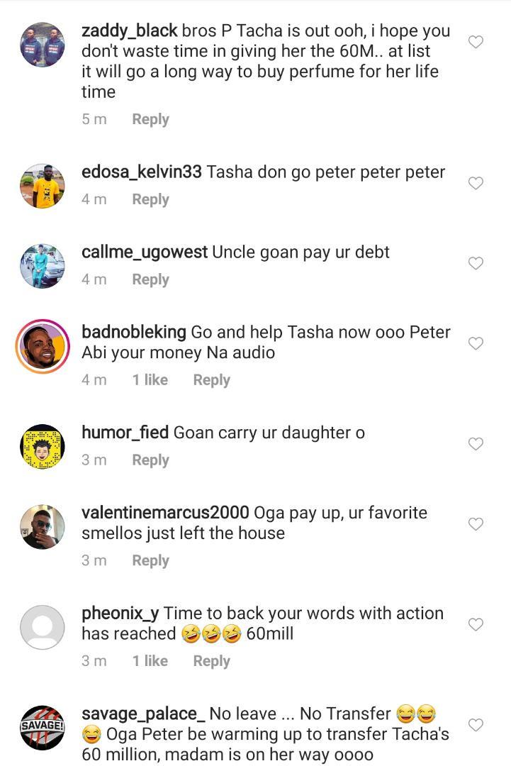 Nigerians storm Peter Okoye