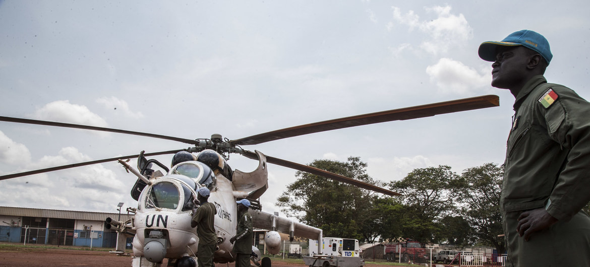 Three dead as UN peacekeeping helicopter crashes in Central African Republic