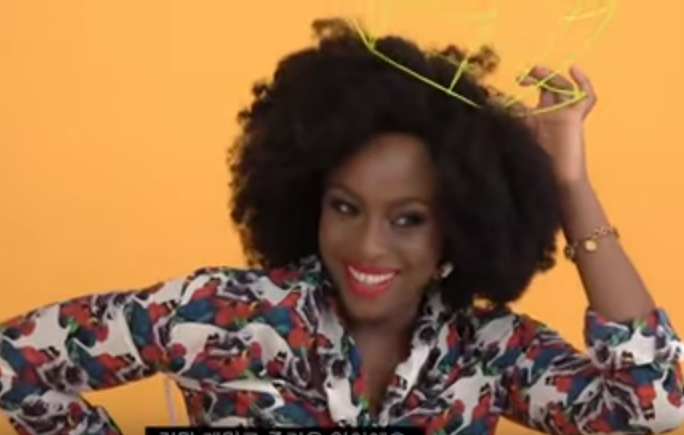 Chimamanda Ngozi Adichie features on Vogue Korea and she spoke Igbo and English during the interview (video)