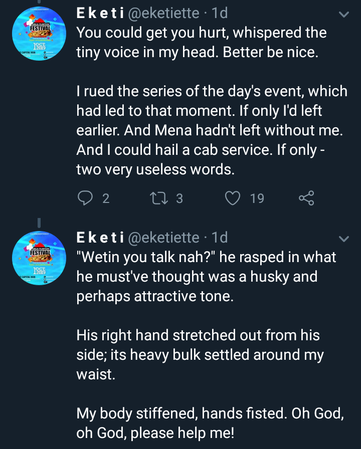 Lady narrates how a kind stranger saved her from a terrifying encounter with a sexual predator