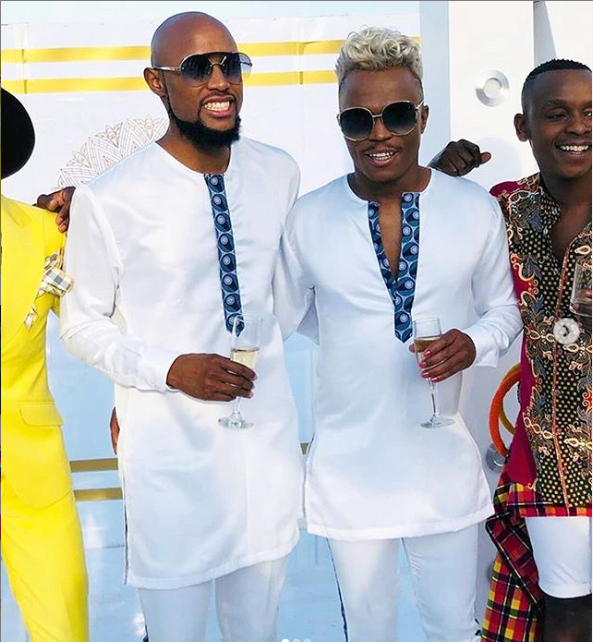 See photos from Somizi and his partner Mohale's traditional wedding in South Africa