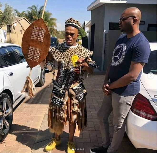 See photos from Somizi and his partner Mohale
