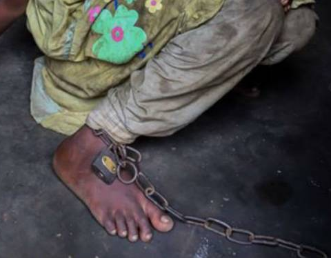 Father who chained daughter and son for two?years dies in NAPTIP custody