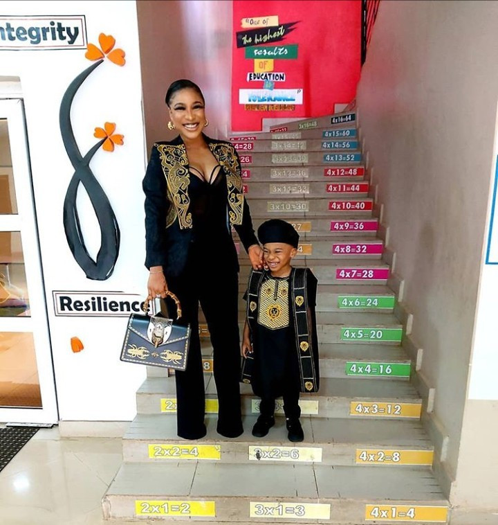 Tonto Dikeh asked to bring a Yoruba dish for her son's cultural day but what she came up with will have you in stitches