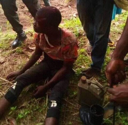 Angry mob beat three suspected armed robbers-serial killers to death in Benue (graphic)