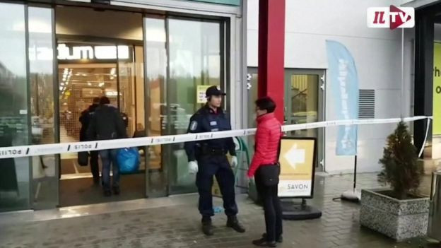 One dead, 10 injured as swordsman attack Finnish Vocational College