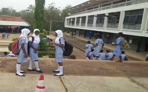 UI International School Muslim Students. Photo: Daily Post