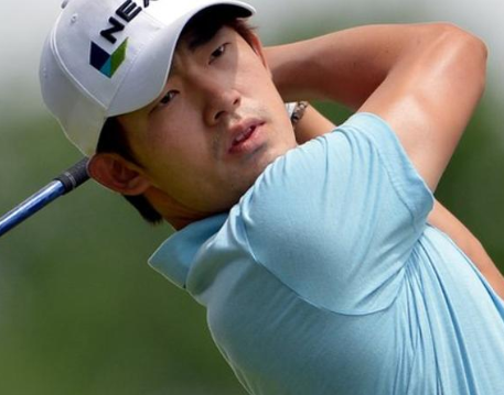 Golfer, Bio Kim handed?a three-year ban after giving the middle finger gesture to a spectator