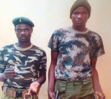 Two fake soldiers arrested in Rivers State