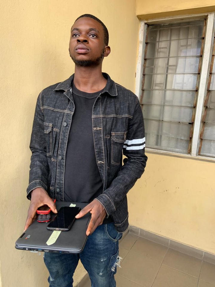 Six suspected internet fraudsters arrested in Lagos