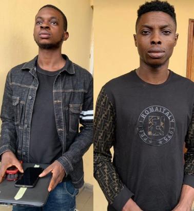EFCC arrests six suspected Internet fraudsters in Lagos