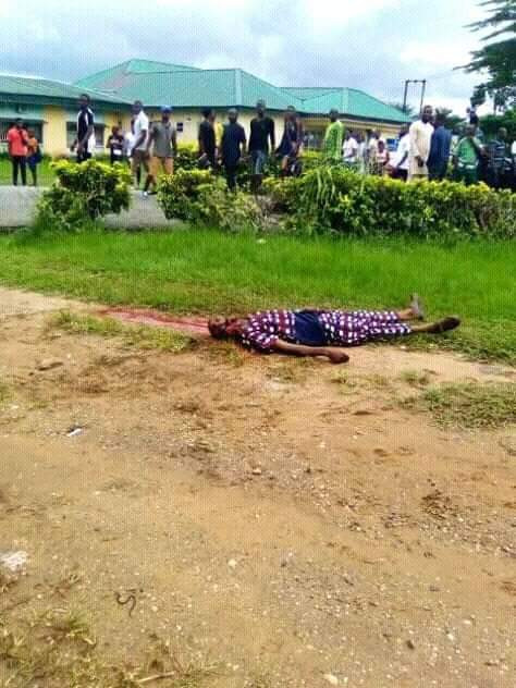 Final year CRUTECH student shot and brutally hacked to death by suspected cultists (graphic photos)