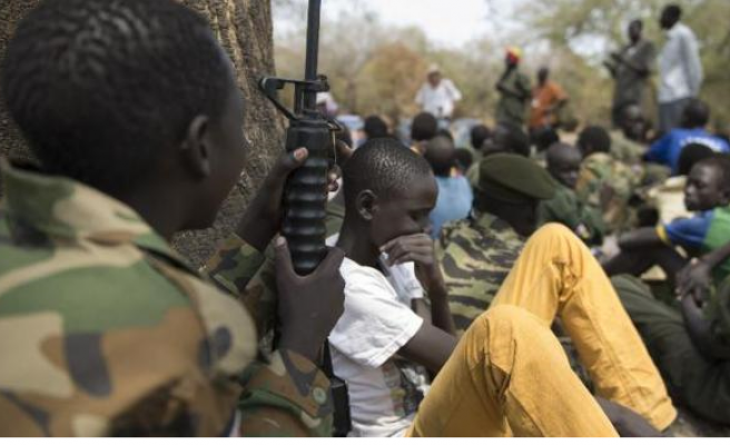 Nigerian army release 25 children suspected of having links with Boko Haram