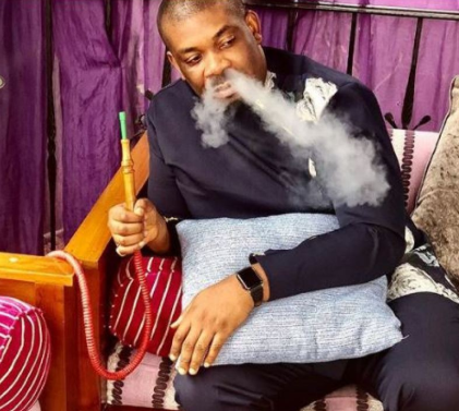 Days after celebrating one year he quit smoking, Don Jazzy makes passionate plea to FG to consider legalizing Cannabis