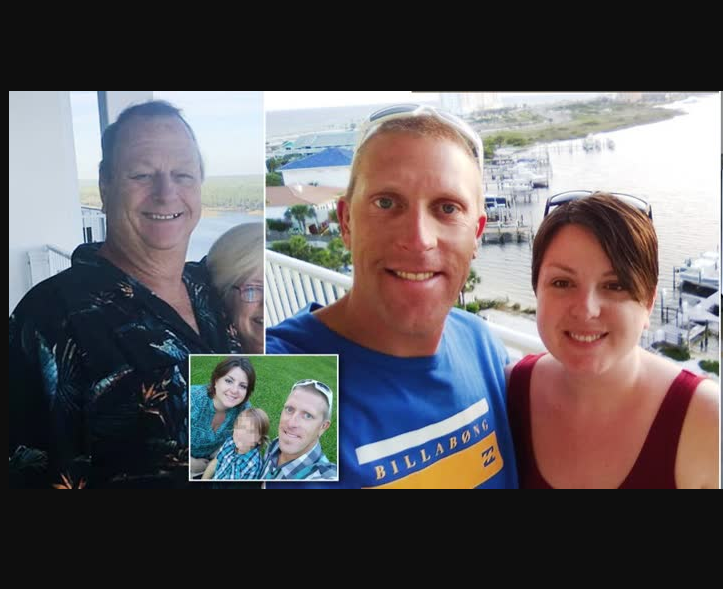 Man shoots dead his son-in-law after he flew from Norway to US and jumped out of the bushes to surprise him on his birthday (Photos)