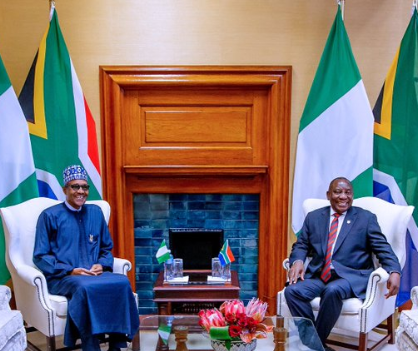 President Buhari invites South African president, Cyril Ramaphosa, to a state visit in Nigeria