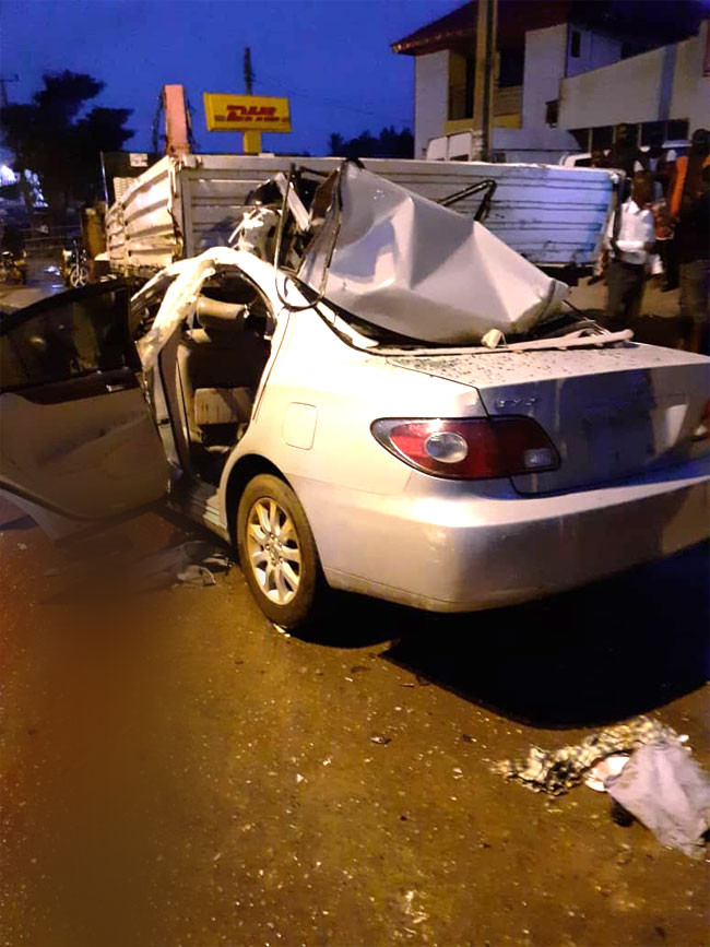 Three dead, two injured in Ondo road accident