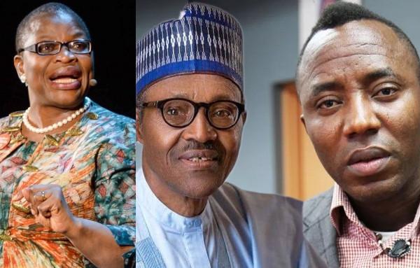 Oby Ezekwesili slams President Buhari over N100m bail to Omoyele Sowore
