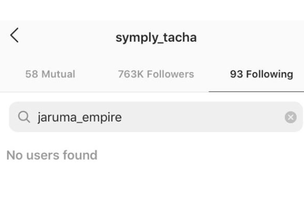 More Drama: Tacha and Jaruma un-follow each-other on Instagram