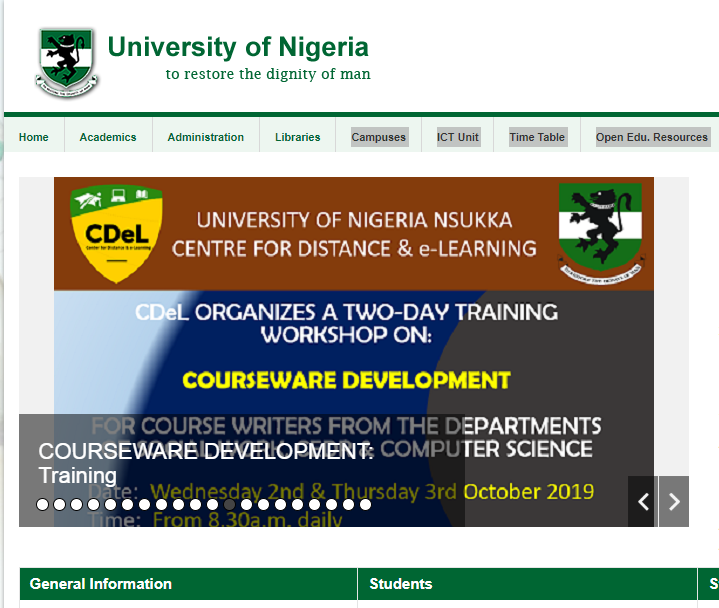 University of Nigeria, Nsukka (UNN) official website hacked by suspected French hacker