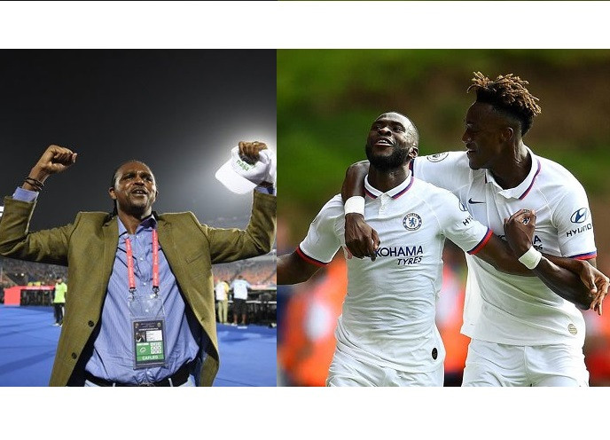 'Nigeria is bigger than any player' - Kanu Nwankwo reacts to Abraham and Tomori receiving England call-ups