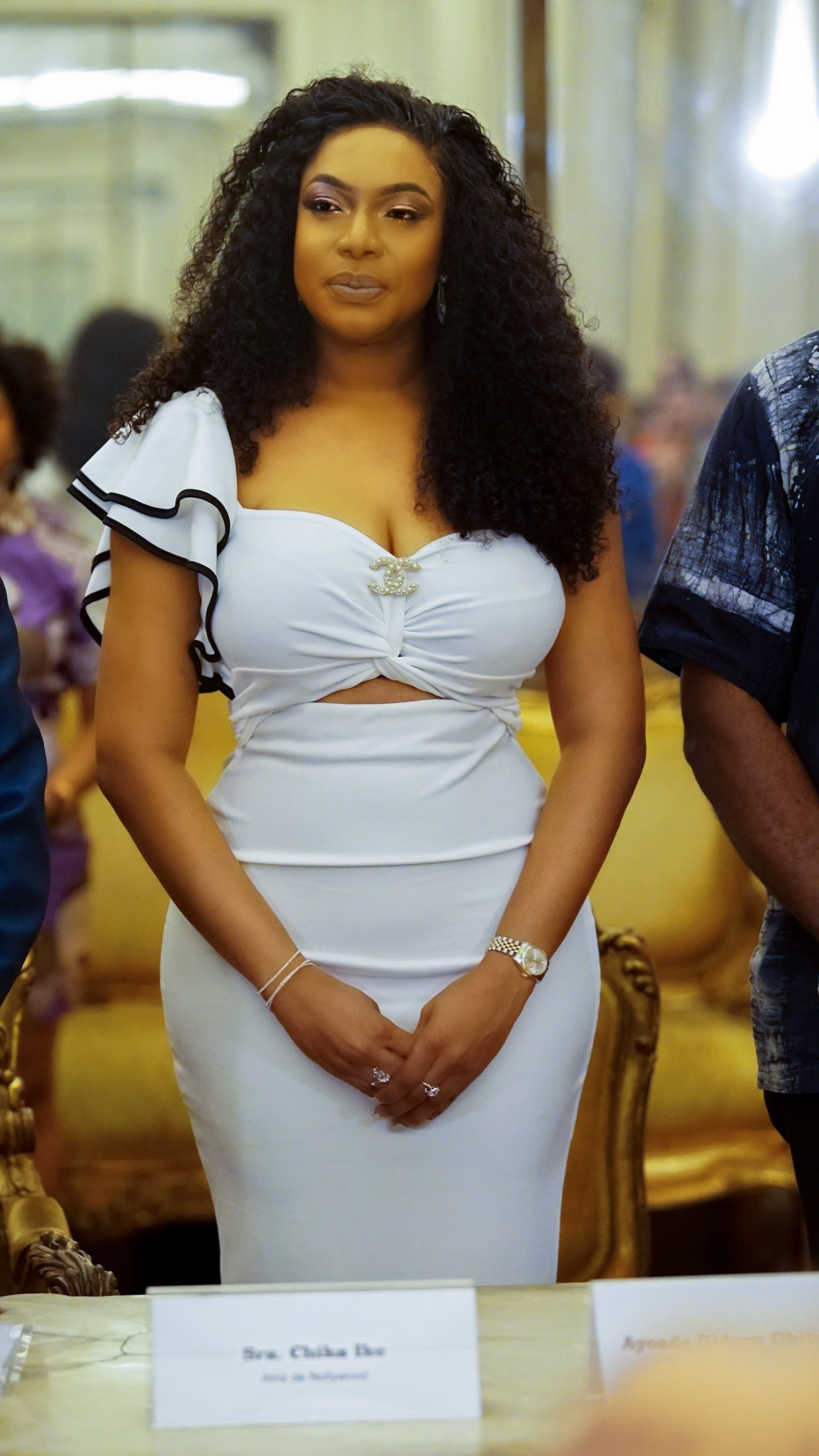 #Nollywood; Chika Ike Speaks at an event in Brazil