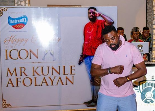 Kunle Afolayan celebrates his?45th birthday without his wife, then he goes on social media to thank his?mum, kids and brothers (Photos)