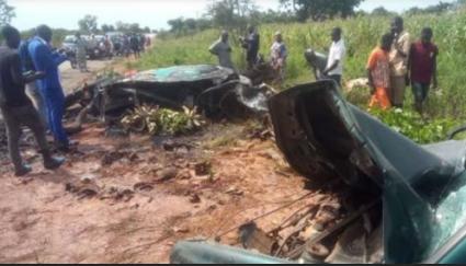 Five people burnt beyond recognition In Kaduna-Kachia road crash
