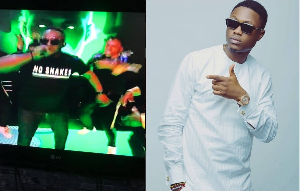 MI Abaga shades Vector during BBNaija finale performance
