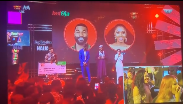 BBNaija: Moment Mercy was announced as winner of the 2019 Big Brother Naija reality show (video)