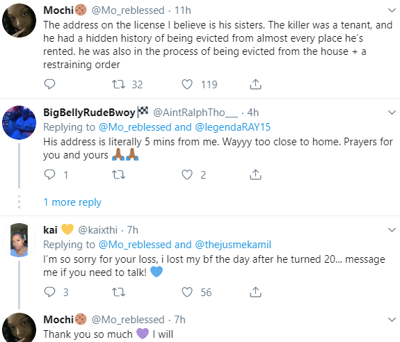 """My boyfriend was killed by this man"" Twitter user cries out"