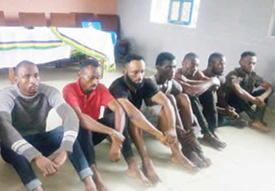 Eight Imo undergraduates arrested?for cultism (Photo)