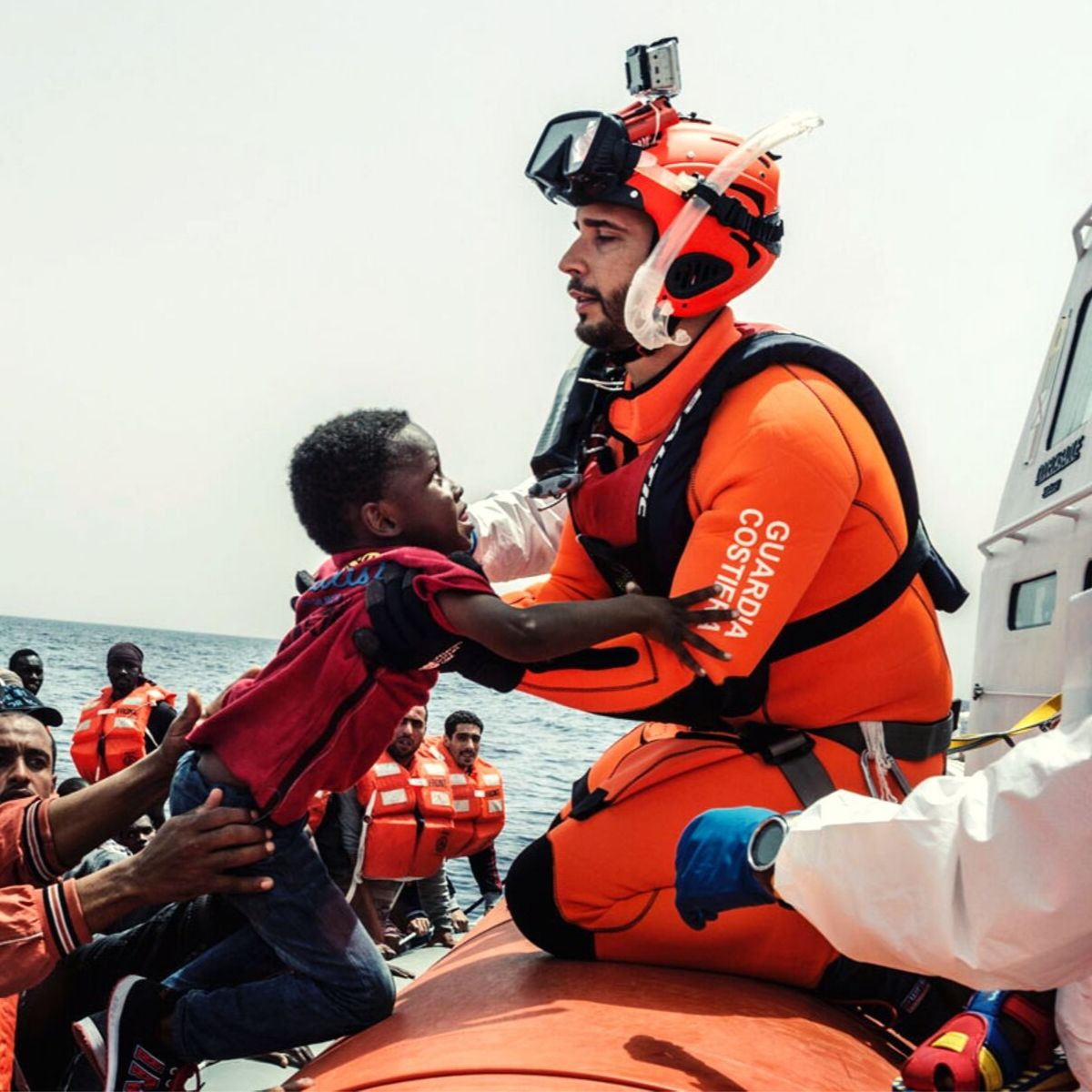 Bodies of 13 women from West Africa and Tunisia recovered after migrant boat capsizes in the Mediterranean