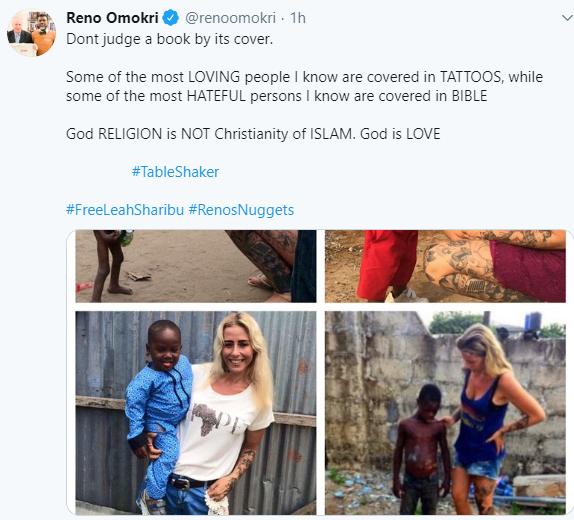 Reno Omokri responds to follower who doesn