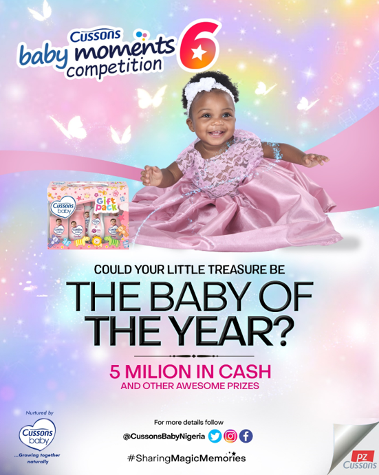 Only 14 days left to enter for the Cussons Baby Moments 6 competition