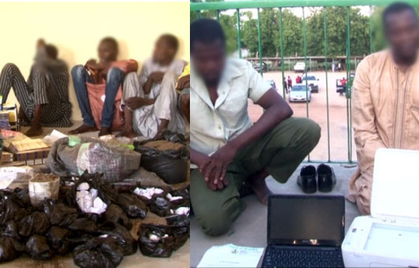 High profile drug dealers arrested in Borno
