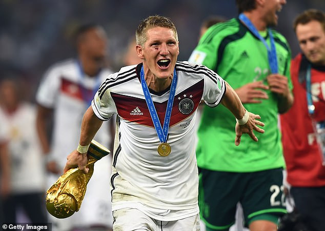 Former Bayern Munich, Man U and Germany player, Bastian Schweinsteiger retires from football