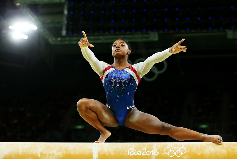 Simone Biles becomes most decorated female Gymnast in history after winning her 21st world championship medal?