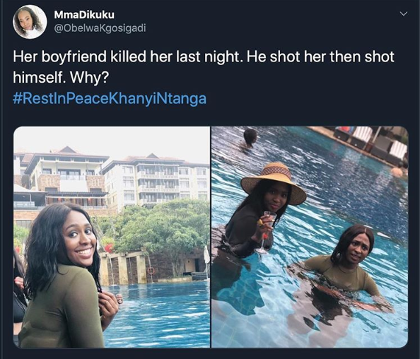 Policeman allegedly shoots his beautiful girlfriend dead before taking his own life