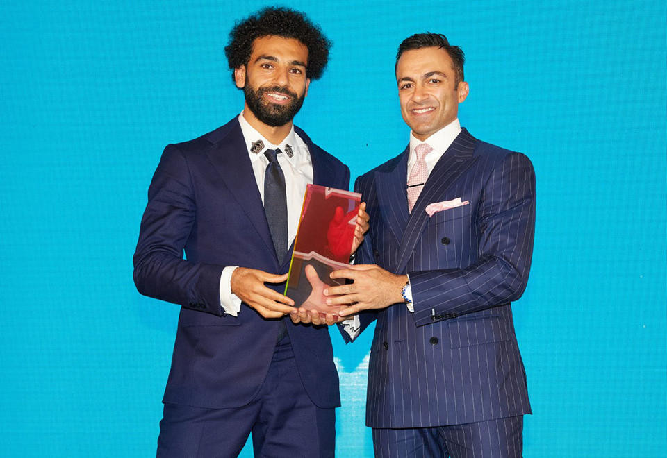 ?Mohamed Salah named GQ Middle East Man of The Year (Photos)