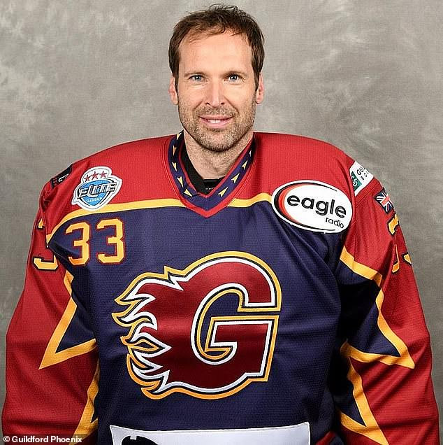 Ex-Chelsea and Arsenal goalkeeper Petr Cech signs with Ice Hockey club Guildford Phoenix and will make debut on Sunday