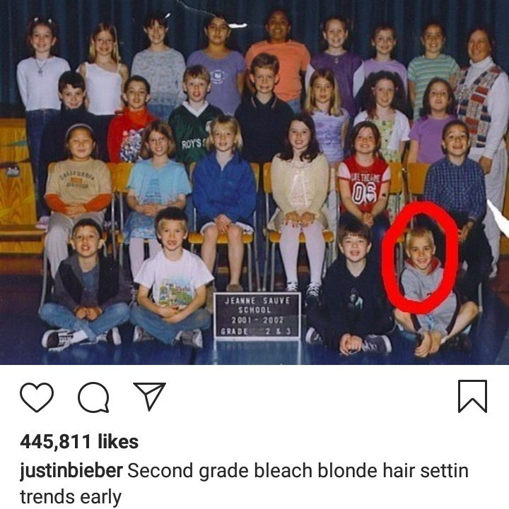 Throwback photos of Justin Bieber before the fame