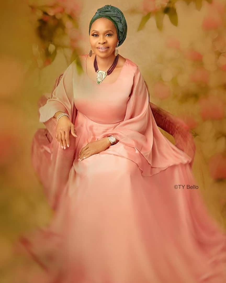 Billionaire businesswoman, Bola Shagaya, celebrates turning 60 with beautiful new photos