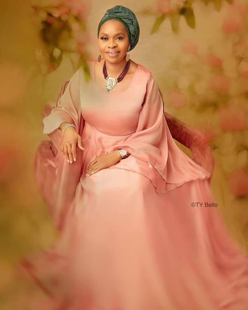 Billionaire businesswoman, Bola Shagaya, celebrates turning 60 with beautiful new photos