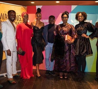 Funmi Iyanda premieres movie