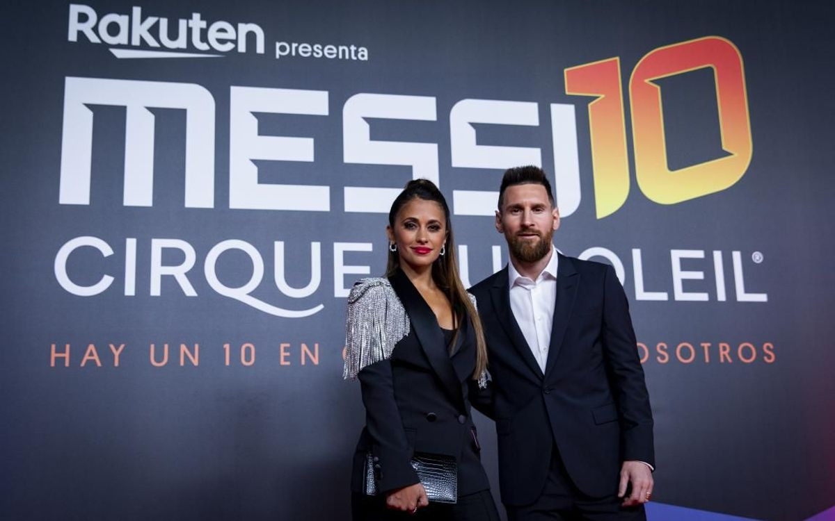 Lionel Messi steps out with his wife Antonella Roccuzzo for Premiere of 'Messi10,' says he'll stay at Barcelona forever (Photos)
